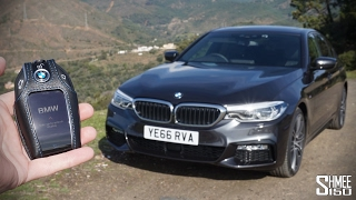 The New BMW 5 Series is a TOTAL TECH FEST!