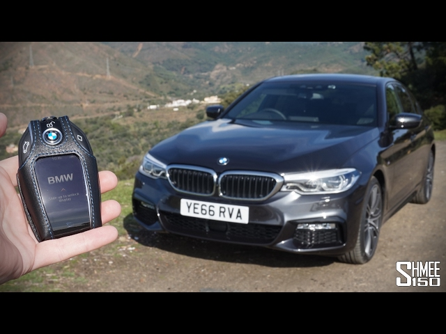 The New BMW 5 Series Is A TOTAL TECH FEST Standard Quality 480p