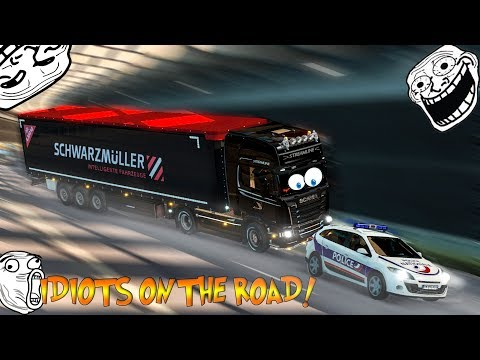 Euro Truck Simulator 2 Multiplayer Funny Moments & Crash Compilation #33