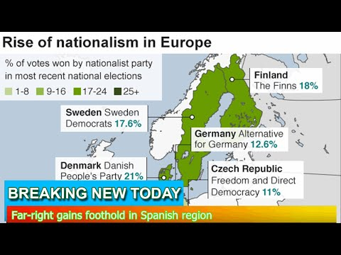 Breaking News - Far-right gains foothold in Spanish region