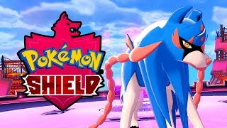 POKEMON SHIELD Zacian Legendary Pokemon Battle Gameplay [Switch 1080p]