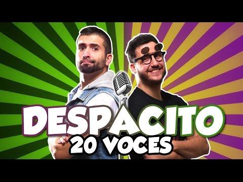 Luis Fonsi - Despacito (Parodia) 20 voces famosas