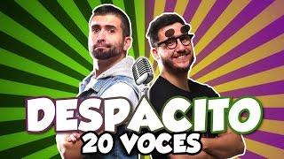 luis fonsi despacito parodia 20 voces famosas
