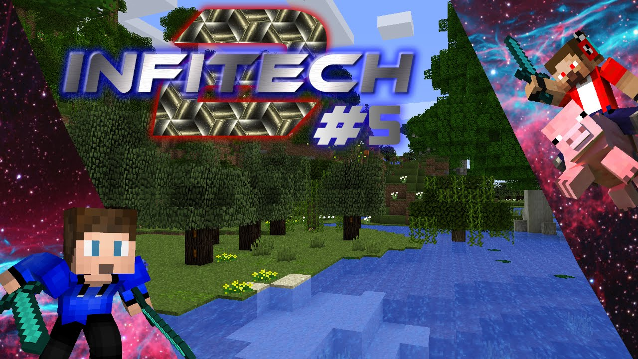 Infitech minecraft for free