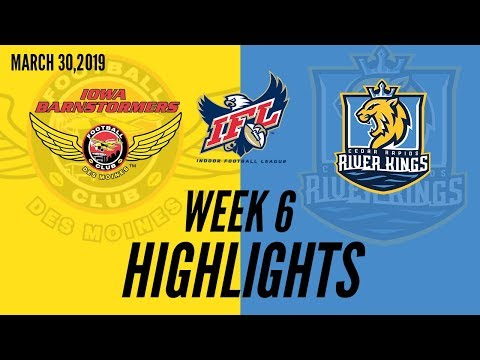 Week 6 Highlights: Iowa at Cedar Rapids