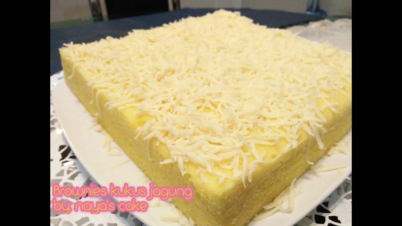 Resep Cake Kukus Simple: Resep Brownies Kukus Jagung Enak,simple Dan Sehat!!!