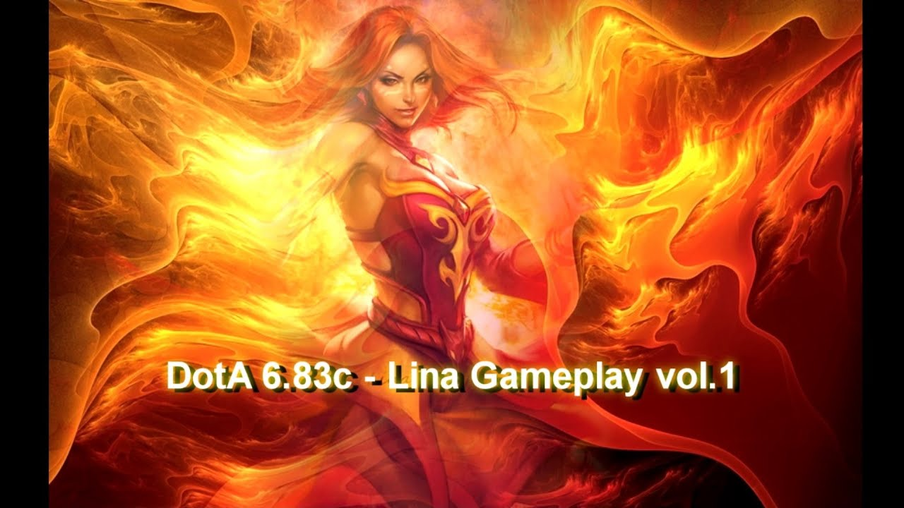 dota v683c lina inverse gameplay 1 youtube