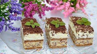 Ciasto Prince Polo bez pieczenia - Jak zrobić - Smakowite Dania