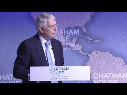 John Major at Chatham House: On Brexit