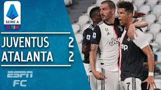 Cristiano Ronaldo Scores 2 Penalties To Rescue Juventus Vs. Atalanta | Serie A Highlights