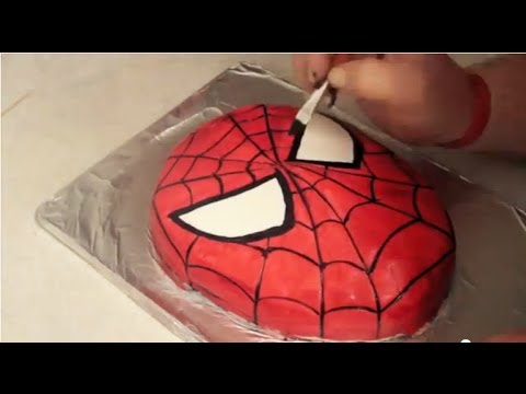 SpiderMan Cake How to YouTube