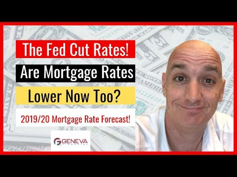 Mortgage Rate Forecast   Fed Rate Cut & 2019 Predictions