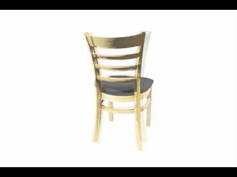 Ladder Back Restaurant Chairs