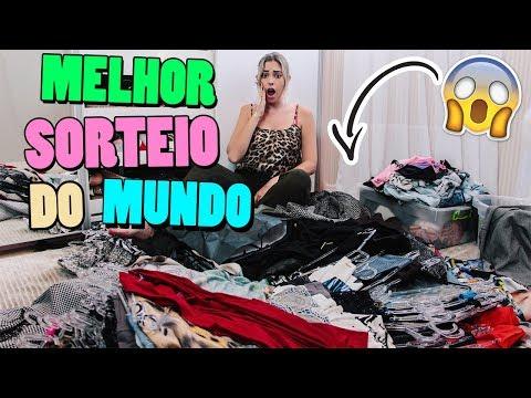 VOU SORTEAR AS MINHAS ROUPAS + ORGANIZAÇÃO | Amanda Domenico