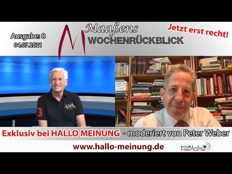 Maaßens Wochenrückblick - Ausgabe 8: Herr Maaßen, was wollen oder können Sie ändern?