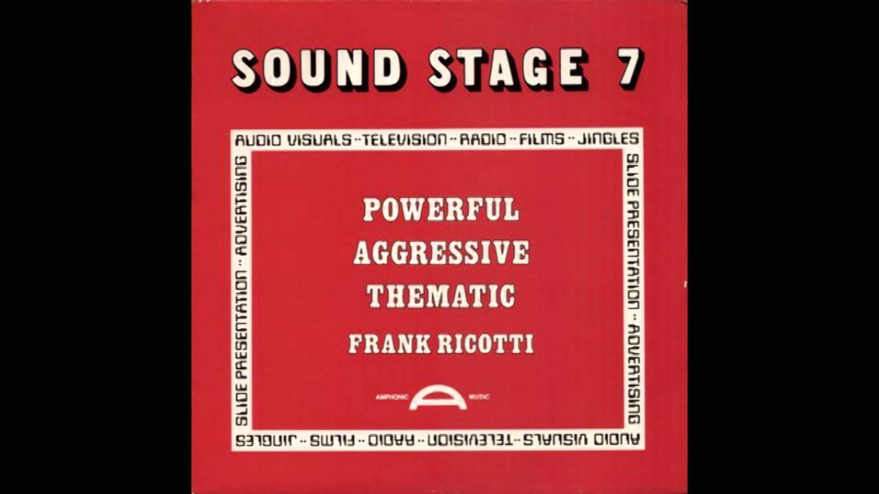 Frank Ricotti Sound Stage 7 Powerful Aggressive Thematic