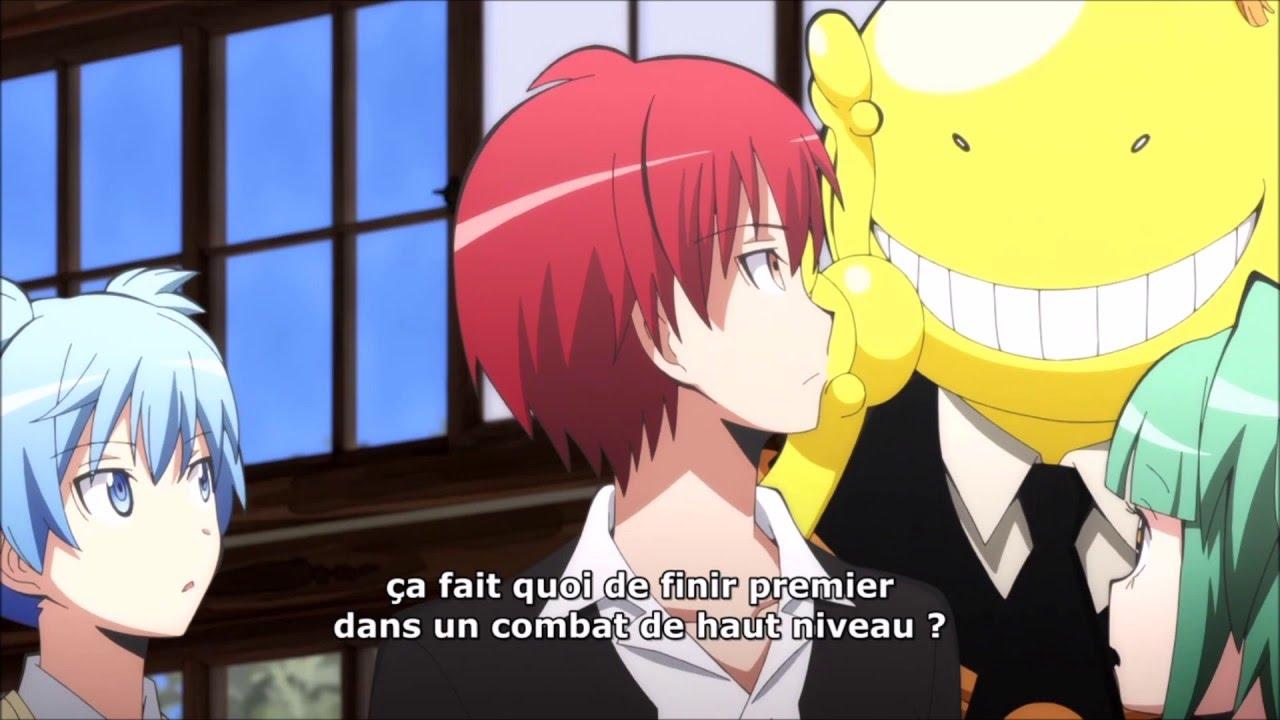 Yandere Anime Girl Wallpaper Assassination Classroom Karma Blushing Vostfr Youtube