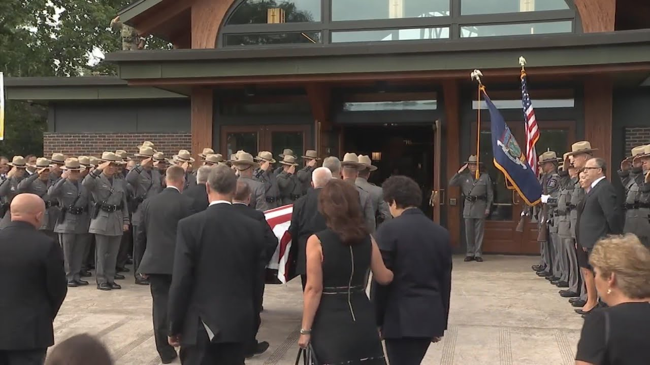 Funeral services held for State Police Sergeant Jeff Cicora