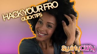 How To Hack Your Fro Tips for a Naturally Big Afro