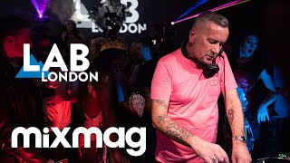 UK house pioneer FAT TONY in The Lab LDN