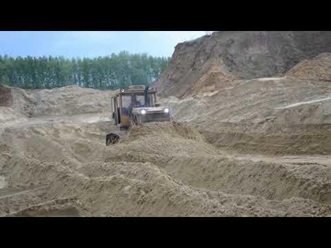 Т170 на карте намыва песка