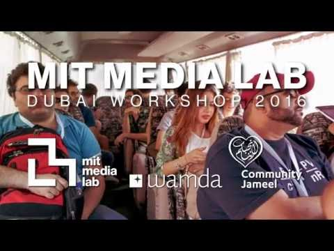 MIT Media Lab Dubai Workshop 2016 #MLDubai