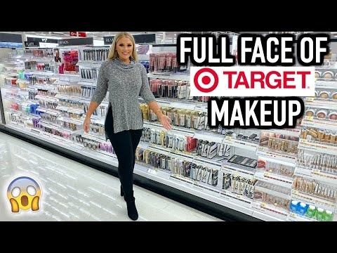 FULL FACE OF TARGET MAKEUP TESTED | KELLY STRACK