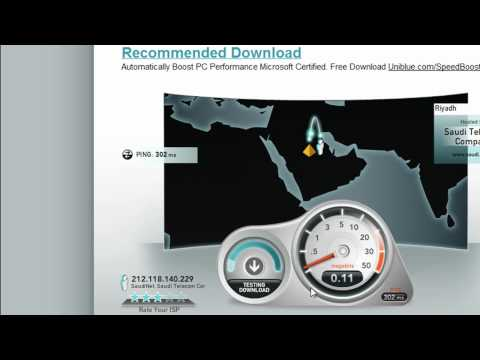 My Worst Speed Test In Riyadh