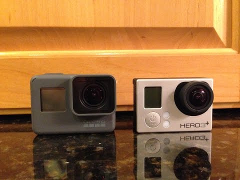GoPro Hero 5 Black vs Hero 3+