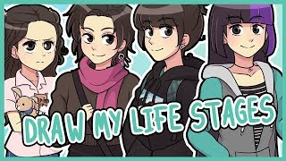 DRAW MY LIFE STAGES ♥ meri