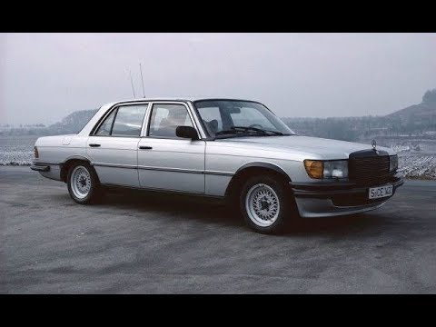 Mercedes W116 AMG Tuning From The 70's & 80's [HD]
