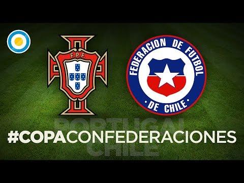 Definición por penales | Portugal 0 - 3 Chile | Semifinal #CopaConfederaciones