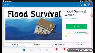 Playing flood on roblox