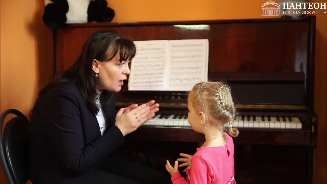 """Прослушивание детей (фортепиано) в д/c Ясли+. Школа искусств """"Пантеон"""" преподаватель Лёшина И.В."""