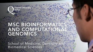 The Queen's MSc course in Bioinformatics and Computational Genomics...