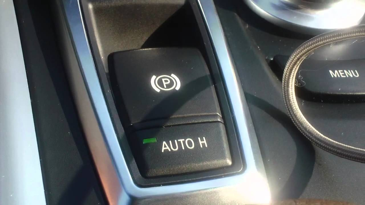 How To Use Auto Hold System On Your Bmw Youtube