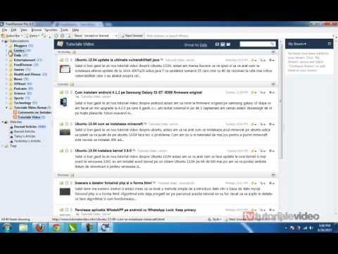 Citeste feedurile de la websituri cu ajutorul FeedDemon 4 5 PRO gratuit