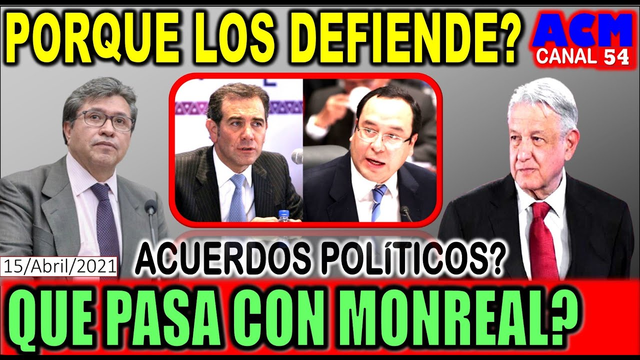 EL INE NECESITA DEFENSORES EN LA 4T, RICARDO MONREAL LO HACE MUY BIEN!!! BUSCA CANDIDATURA EN EL 24?