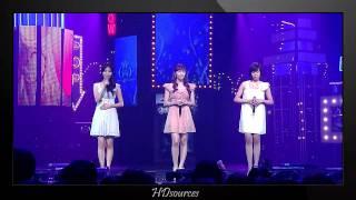 [Perf/HD] Jessica, Tiffany, Seohyun - Oppa Nappa