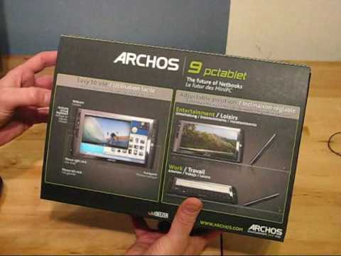 ARCHOS 9 PC Tablet Driver Windows 7
