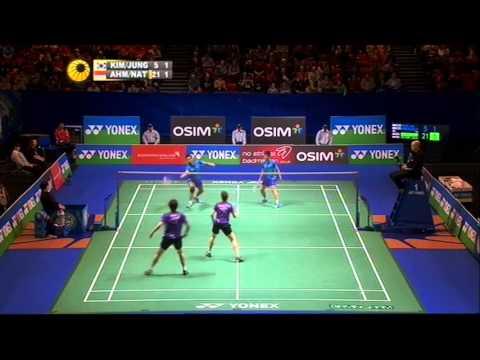 [Highlights] 2013 All England R16 XD Liliyana Natsir Tontowi Ahmad vs Kim Ki Jung Jung Kyung Eun