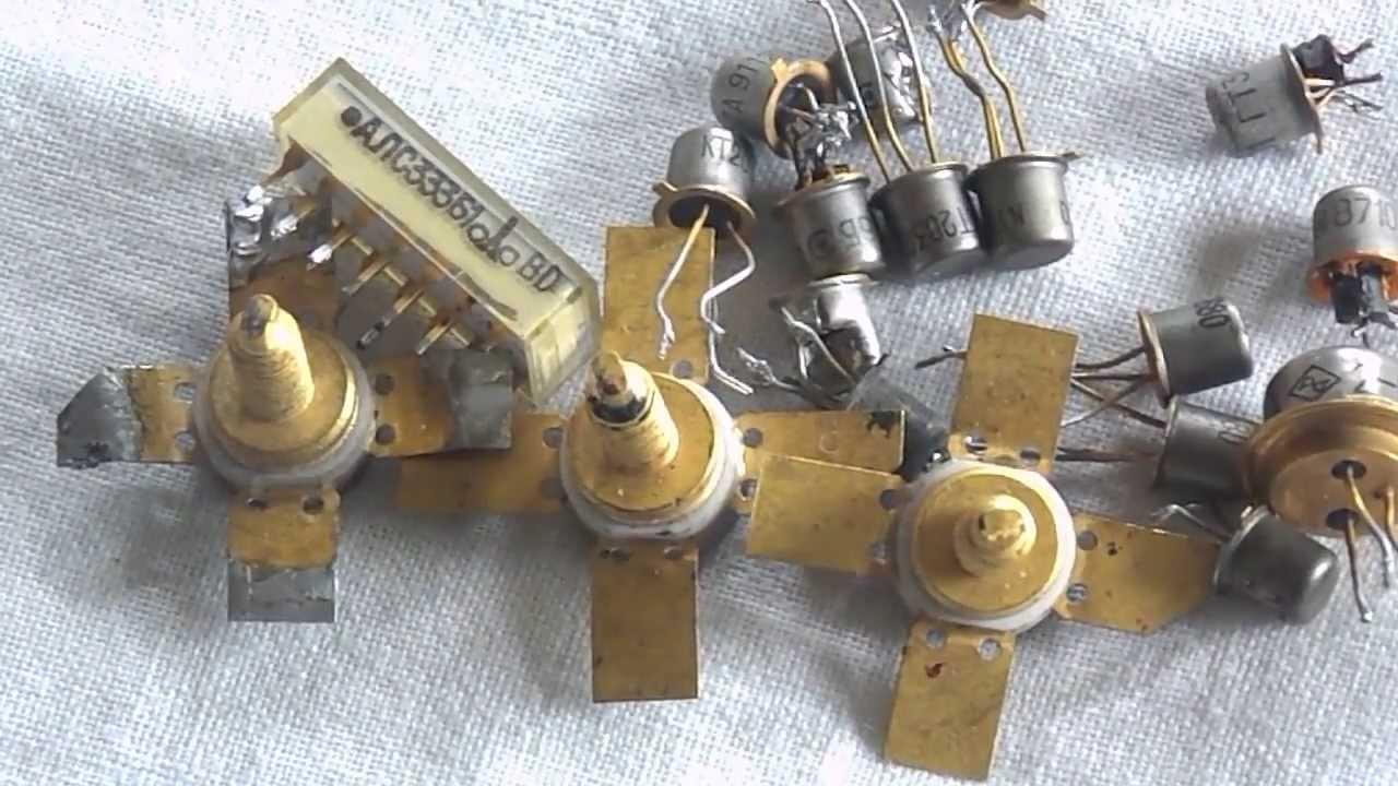 Золото из радиодеталей в домашних условиях: как извлечь?