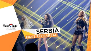 Hurricane - Loco Loco - First Rehearsal - Serbia 🇷🇸 - Eurovision 2021