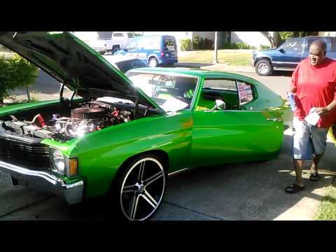 Chevelle candy apple green