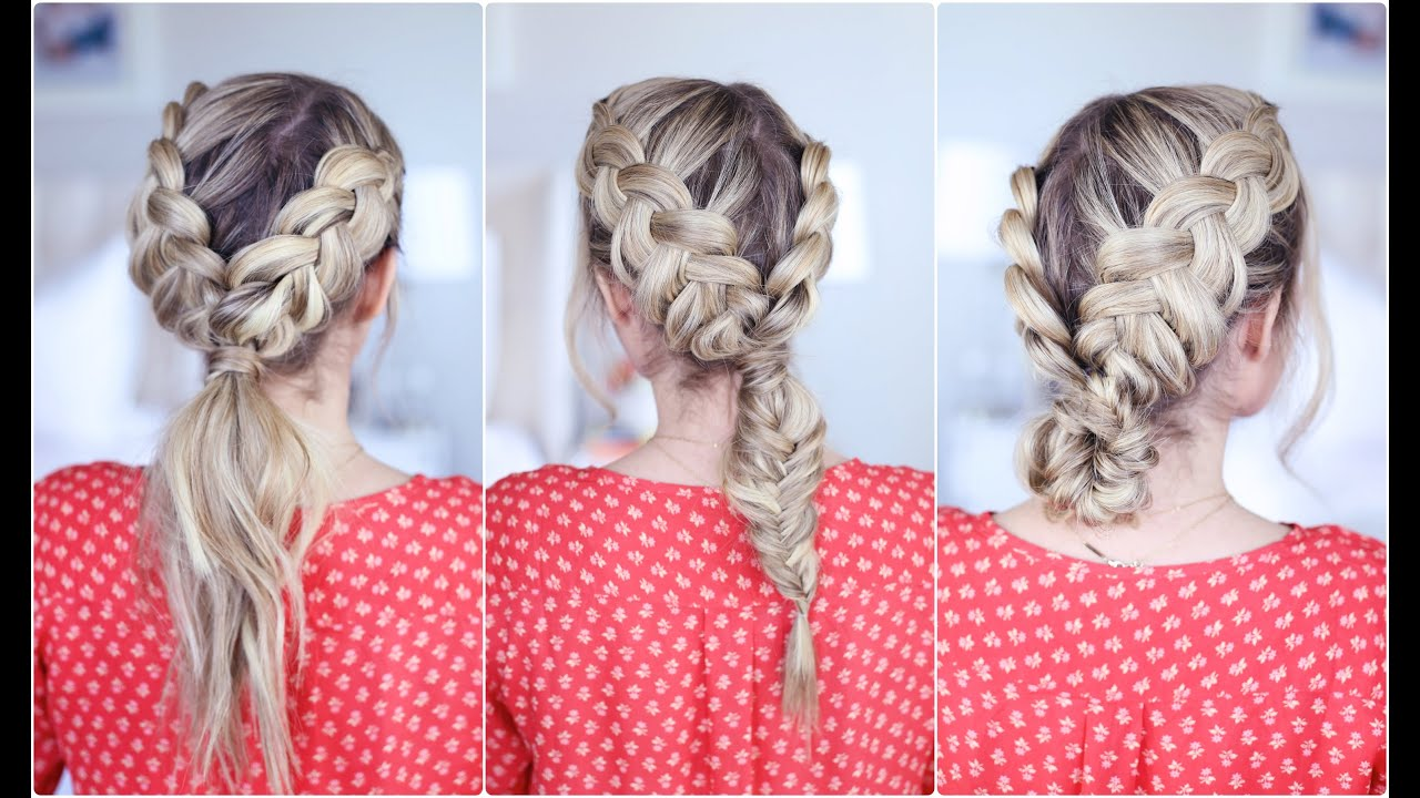 3in1 Double Dutch Braids Buildable Hairstyle  Cute
