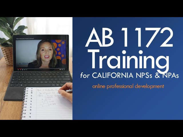 AB 1172 Training: Introduction