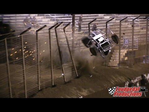 "Markus Niemelä Crash at the 360 ""Oval Nationals"""