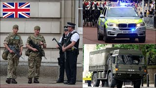 British Army and Armed Police activity in London: Op Temperer
