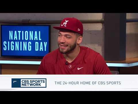 Antonio Alfano talks Committing to Alabama   Inside College Football