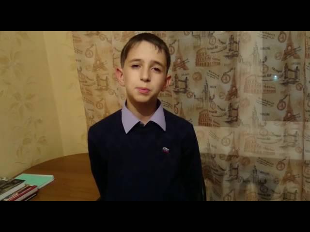 Изображение предпросмотра прочтения – АрамбекХучиев читает произведение «Я вырастал в глухое время» В.Я.Брюсова